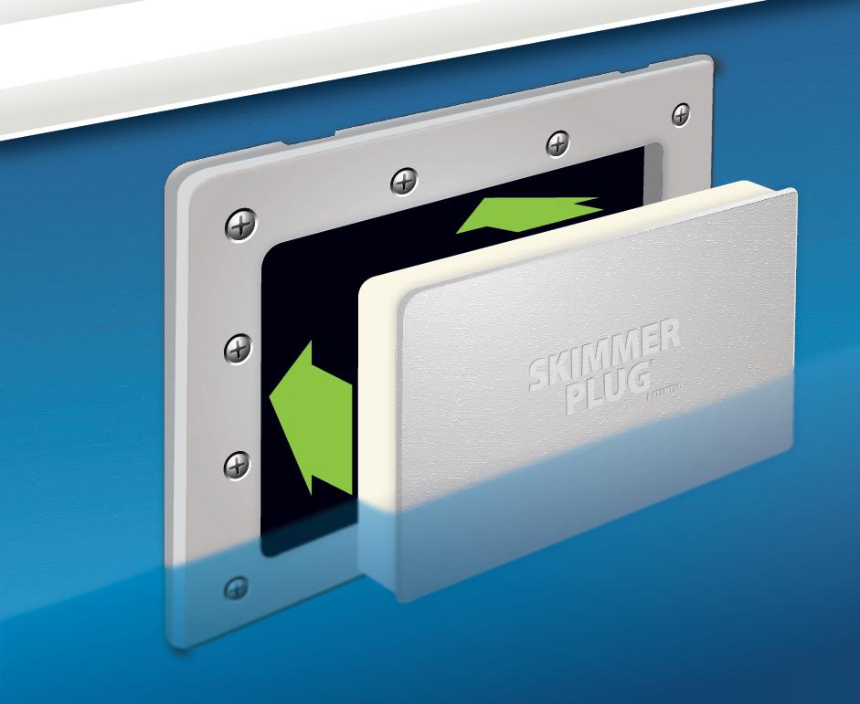 Skimmer Plug Simple Pool Technology Inc